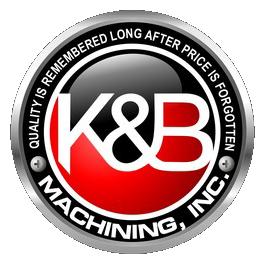 K & B Machining Logo